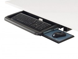 Support clavier et tablette economique, L490xP220