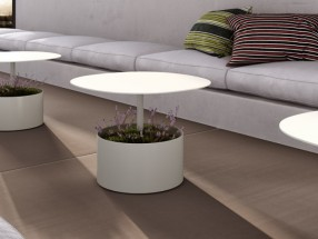 Table basse LAURA, diamètre 70 x H50