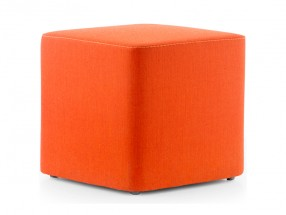 Pouf carré WOW en similicuir cat.H